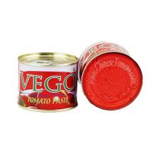 Pâte à la tomate (400 g de ketchup à la tomate en conserve, sucré et sucré savoureux!)