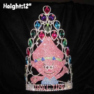Wholesale Crystal Trolls Pageant Crowns
