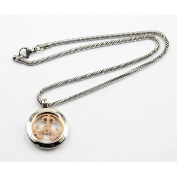 New Design Silver Living Locket Necklace Jewelry
