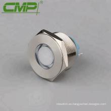 Diámetro: luz indicadora del panel de 22 mm con TUV, CE