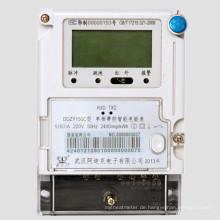Drei-Phasen-Fee-Steuerung Smart Energy Meter mit GPRS / Wireless / Carrier-Modul