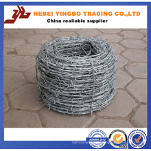 Canton Fair 14.4D29 25kg/Roll Galvanized Barbed Iron Wire