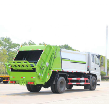 Environmental Friendly HOWO Carriage Removable Compactor Garbage Truck compressed rubbish vehicle