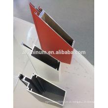 China visível alumínio frame perfis de parede de cortina de vidro