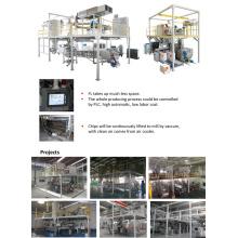Ligne de production de revêtement en poudre automatique complète de 400kg / H avec une configuration de haut niveau