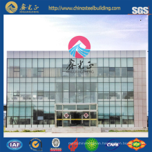 Multi-Floor Prefab Office /Light Steel Prefab House/Glass Wall Building (JW-16256)