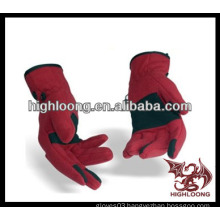 new style comfortable custom ski glove with design