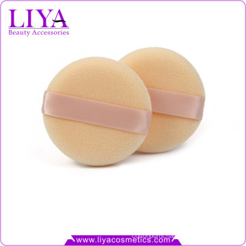 Factory price makeup tool flocking powder puff custom size