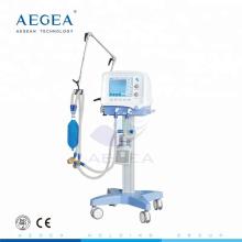 АГ-HXJ01 медицинского пациента скорой помощи использовали мобильные дыхательный аппарат кислорода больницы респиратор вентилятор цена машины