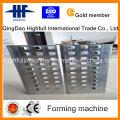 Constrution Scaffolding Working Platform Steel Plank Roll Forming Machine Manufacturer