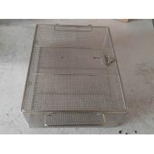 Casier métallique de treillis métallique d'industrie