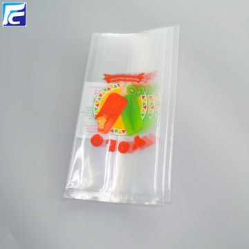 Ice pop clear popsicle wrappers plastic packaging bags