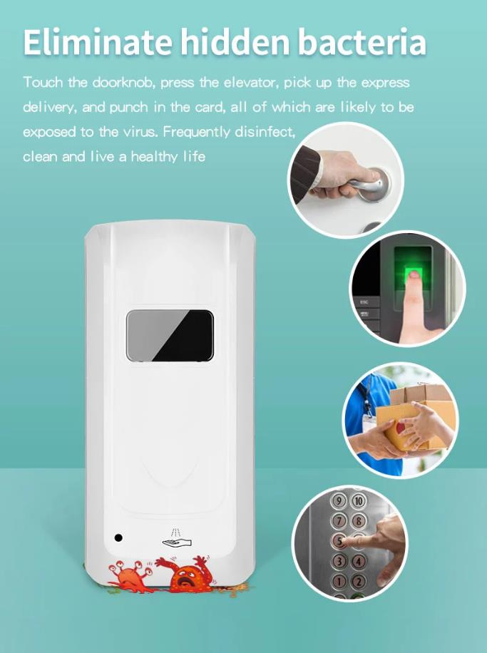 Automatic Induction Sterilizer Equipments Machine Spray Droplet For Restaurant Hotel Shop School