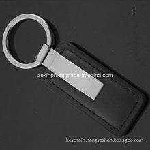 Leather Metal Keychain