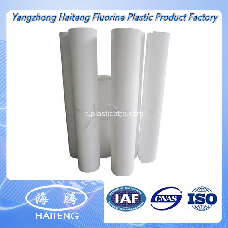 Lamiera PTFE con rivestimento in Teflon Made in China