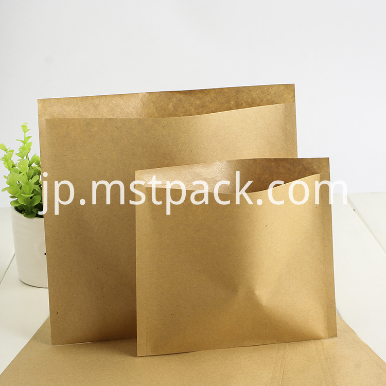 3 side deal Flat Bag