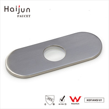 Haijun 2017 New Luxury Beautiful Bathroom Water Sink Single Hole Faucet Deck Plate