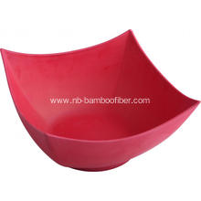 Bamboo Fiber Square Open Bowl