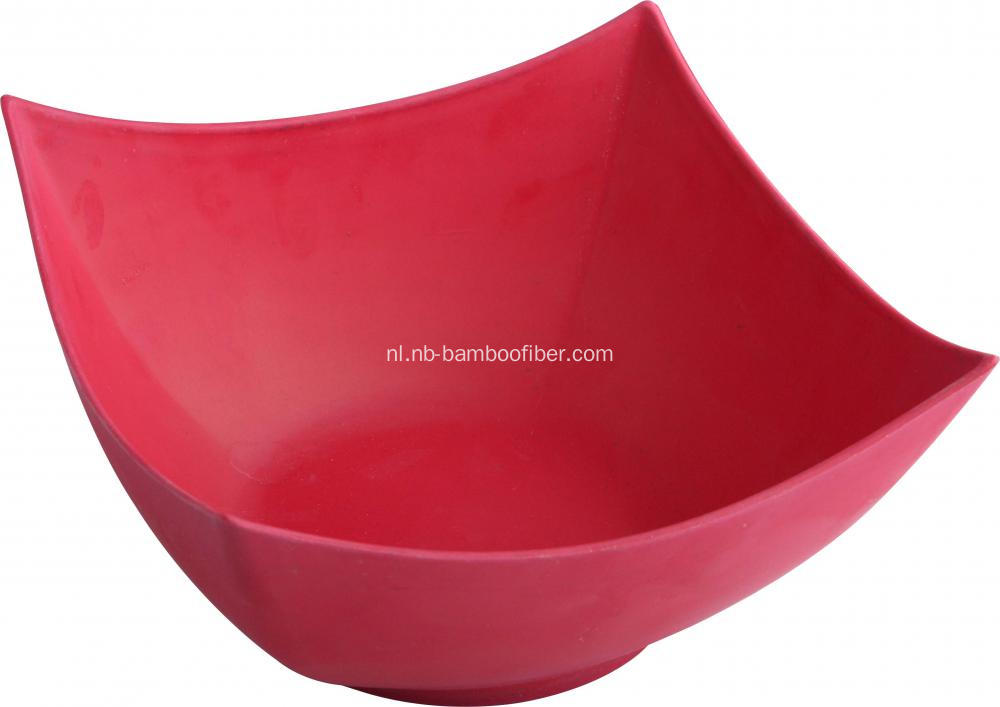 Bamboe Fiber Square Open Bowl