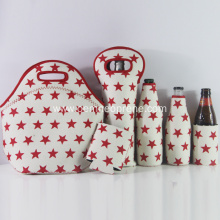 Red star hot sale lunch cooler bag set