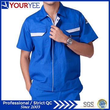 Manga curta antiestático Workwear vestuário uniforme para o trabalhador (ymu120)