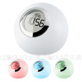 LED Atmosphere Night Light with Time Clock and Alarm Clock (LNT010)
