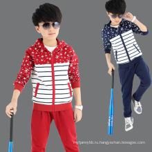Детская одежда 2016 горячая Распродажа мальчик свободного покроя костюм