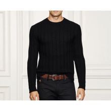 15PKCAS73 Rib knit cashmere sweaters for man