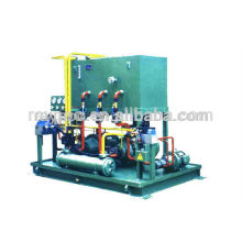 Sistema hidráulico de alta presión de laminación en caliente