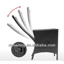 Chaise longue inclinable en aluminium réglable à l'air libre à prix réduit