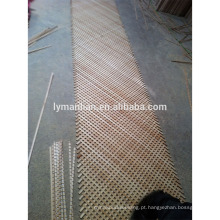 Estrutura da madeira do armário de cozinha / painéis de madeira decorativos da estrutura