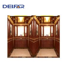 Старинный и стандартный пассажирский лифт