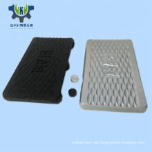 Schwarz eloxiertes CNC-Bearbeitungs-Drehteil aus Aluminium