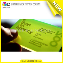 Hot sale offset printing luxury business card manufacturer