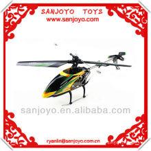 2013 WL juega el helicóptero rc del helicóptero del rc de una sola cuchilla de 4 canales V912