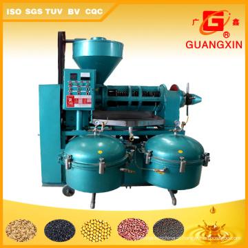 Prensa de óleo automática com filtro de óleo de 10 toneladas por dia