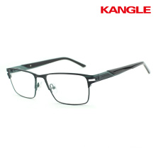 Wholesale Stainless glass frame latest fashion in eyeglasses without nose pads
