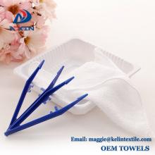 100% cotton plain white 30x30cm disposable airline hot towel for airplane 100% cotton plain white 30x30cm disposable airline hot towel for airplane