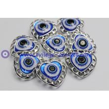Good luck eye evil eye pendant heart-shaped charm pendant