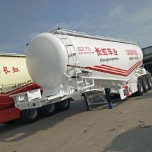 Semirremolque del tanque de cemento del compresor de aire de la capacidad 60T