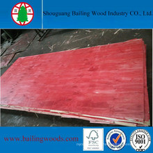 18mm Red Plywood for Consturction Use