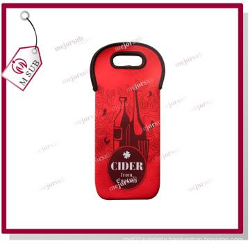 Sublimation Printed Neoprene Diving Wine Bag with Custom Design