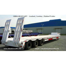 CHINA HEAVY LIFT - Lowbed Trailer / Lowboy Trailer / Flatbed Container Trailer - CHINA HEAVY LIFT