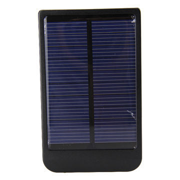 Portable 2,600 to 12,000mAh Micro USB Mobile Phone Station with Solar Charger, Size 70 x 60 x 15mm