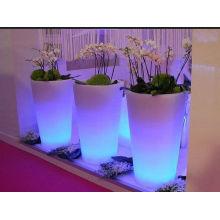 Pot de fleur Design décoratif LED spécial