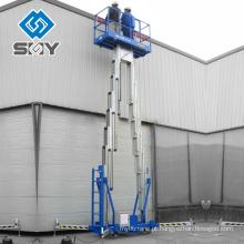 Elevador de tesoura hidráulica de alumínio 500 kg