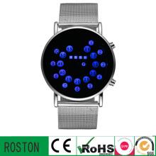 Steel Belt Armbanduhr mit RoHS CE FCC