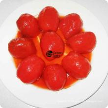 Bonne qualité de la tomate pelée entière en conserve