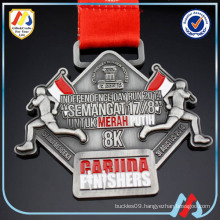 run for asian games 2018 finisher green medal/run medal ribbon