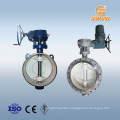 steam electric actuator water valve flow control butterfly valve api 610 lug type